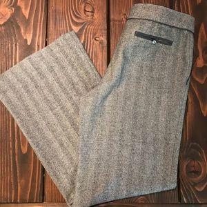 4/$25! Rebecca Taylor herringbone trousers